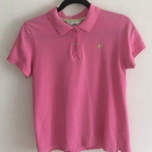 LillyPulitzer  pink polo